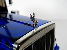 New Hood Grill Ornament emblem Angel Pig for RC Toy Tamiya 1/14 Semi King Hauler