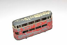 Dinky Toys Pre War 2 Tone Tram Car # 27 With Metal Wheels RARE !!