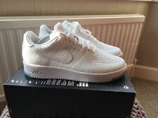 Nike Air Force 1 Ultra Flyknit low Uk8 White