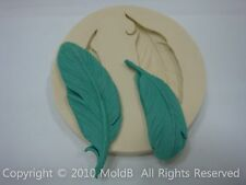 Silicone Mold Fondant Mould for Sugarcraft,Cup Cake,Chocolate, Clay - Feather