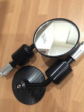 New Ducati Diavel Bar End Carbon Mirrors Dark Strada Red AMG Strada Etc