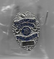 DISNEY CAST SECURITY OFFICER POLICE BADGE REPLICA DISNEYLAND PIN NEW in PLASTIC