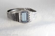 Seiko Men's D229-5010 Vintage Digital LCD Watch Stainless Steel Band