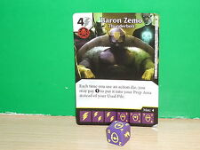 DICE MASTERS MARVEL Age of Ultron Rare - 107 Baron Zemo