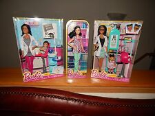 Barbie Doll Lot AA Dentist Asian Nurse and AA Eye Doctor for Spring Birthdays!