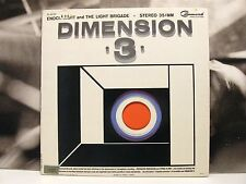 ENOCH LIGHT AND THE LIGHT BRIGADE - DIMENSION 3 - LP VG+/VG- 1964 US COMMAND