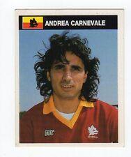 figurina CAMPIONI E CAMPIONATO 90/91 1990/91 numero 315 ROMA CARNEVALE