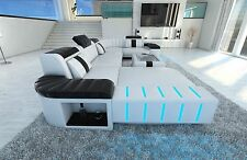 Upholstered Sofa Interior Design BELLAGIO U-shaped Design Sofa with LED lighting
