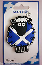 Fridge Magnet - Scottish Sheep with Saltire Magnet - Great Gift, Souvenirs