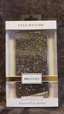 New Case-Mate Brilliance Gold Crystal Case iPhone 6 Plus / 6s Plus Gold MSRP $80