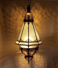 """Orientalische Laterne Marokko Lampe Hängeleuchte Deckenlampe  """"Manara"""" Milchglas"""