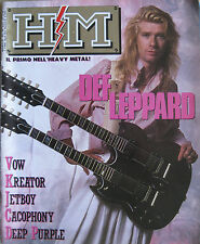 HM 36 1988 Def Leppard Ian Gillan Roger Glover Vow Wow Kreator Jetboy Cacophony