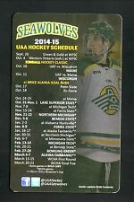 2014-15 Alaska-Anchorage Seawolves Hockey Magnet Schedule