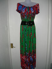 NEW WITH TAGS LADIES 18 20 MAXI SUMMER DRESS HOLIDAY PARTY NIGHTS OUT LARGE XXL