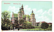 Kobenhavn Rosenborg Slot Castle Denmark early color view