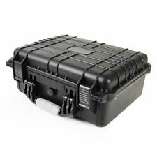 "16"" Black Tactical Weatherproof Equipment Case"