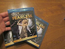 Taylor Swift: Journey to Fearless BLU-RAY the ultimate live experience SONGS