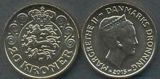 DENMARK 20 Kroner 2015 UNC