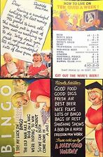 BAMFORTH SEASIDE COMIC SERIES POSTCARDS Pack No 3