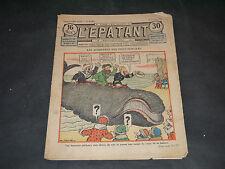 JOURNAL BD L'ÉPATANT N°1420 du 17 OCTOBRE 1935 A.PERRE COUVERTURE PIEDS NICKELES