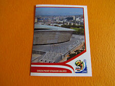7 STADE CAPE TOWN GREEN POINT PANINI FOOTBALL FIFA WORLD CUP 2010 COUPE DU MONDE