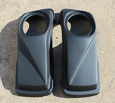 "6x9 "" SPEAKER LIDS FOR HARLEY DAVIDSON EXTENDED STRETCHED SADDLEBAGS"