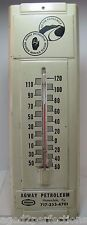 Vintage AGWAY Petroleum Honesdale Pa Advertising Thermometer 'Go the Extra Mile'