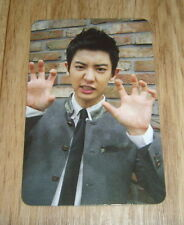 EXO K M 1st Repackage Album Ver.A Growl ChanYeol Photo Card Kor.ver Official