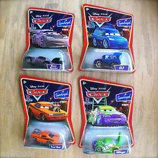 Disney PIXAR Cars Supercharged WINGO & SNOT ROD & DJ BOOST lot 4 diecast TUNERS
