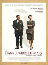 Affiche 40x60cm DANS L'OMBRE DE MARY 2014 Tom Hanks, Emma Thompson NEUVE