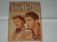 CLAUDETTE COLBERT E JAMES STEWART NOVELLE FILM N.46 DEL 0611//1948 IMPERDIBILE