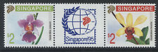 SINGAPORE- 1991 ORCHIDS PAIR MNH SG.653/654  (REF.A61)