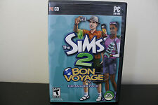 Sims 2: Bon Voyage  (PC, 2007) *Tested/Complete