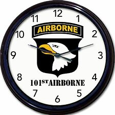 """Screaming Eagles 101st Airborne Division Army infantry Wall Clock New 10"""""""