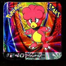 STAKS MAGNET AIMANT POKEMON N° 240 MAGBY HOLO ...