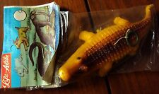 VINTAGE DIME STORE PULL TOY ALIGATOR MADE IN HONG KONG 1960s NOS New Old Stock
