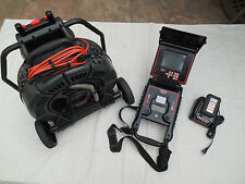 Ridgid Seesnake Max 180' Reel Color Camera & DVD PAK 2 Inspection Camera Monitor