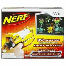 Brand New NERF N-Strike SWITCH SHOT EX-3 BLASTER (Nintendo WII)