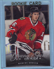 2011/12 Upper Deck  Series 1 Canvas Young Guns ROOKIE Card  MARCUS KRUGER C94 yg