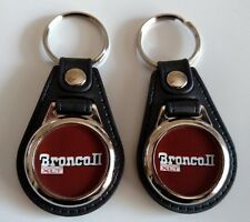 FORD BRONCO 2 XLT KEYCHAIN 2 PACK