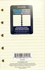 """Pack of 32 Filofax Pocket Size (3.5"""" x 5.5"""") Notebook Refills, Ruled"""