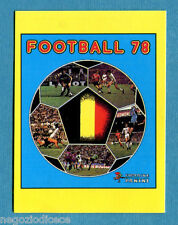 FOOTBALL 98 BELGIO Panini -Figurina-Sticker n. F - FOOTBALL 78 COVER -New