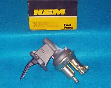 "1976 1982 Ford Mercury 4cyl 200"" 140""  KEM Factory Rebuilt Fuel Pump 1136"
