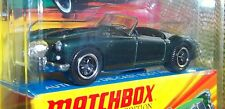 MG MGA BRITISH DARK GREEN MATCHBOX 1:64 LESNEY EDITION NOS BOX RARE LHD 1960 MGA