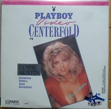 Laser disc  PLAYBOY video CENTERFOLD Playmate of the year LYNNE AUSTIN