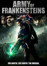 ARMY OF FRANKENSTEINS (DVD, 2015) WITH SLEEVE