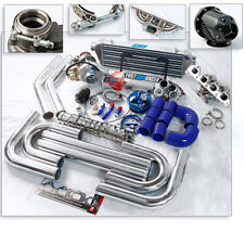 T3 T3/T4 T04E Turbo Kit V-band Turbo Charger Turbo Manifold Tiburon 1.8L 2.0L L4