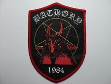 BATHORY SHIELD     WOVEN  PATCH