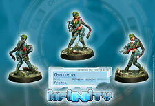 Infinity BNIB Ariadna - Chasseurs (Adhesive-Launcher)