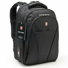 "Swissgear Men Women Casual 17"" Laptop Notebook Backpack Travel Camping Armybag"